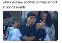 Memes, Saw, and School: when you saw another primary school  at sports events Did your school have a rivalry with a nearby school?