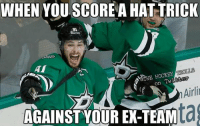 Boston, Games, and Beast: WHEN YOU SCORE A HAT TRICK  AI  tter  Twit  On  Airli  AGAINST YOUR EX-TEAM 20pts in 13 games, since he left Boston he became a Beast.