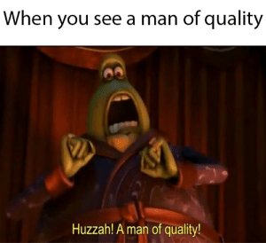 10/10! Amazing! - The Huffington Post: When you see a man of quality  Huzzah! A man of quality! 10/10! Amazing! - The Huffington Post