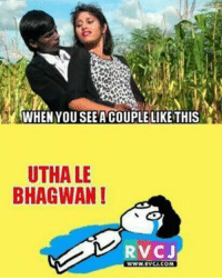 Hero Alom! Why you do this? rvcjinsta: WHEN YOU SEE ANCOUPLE LIKE THIS  UTHALE  BHAGWAN I  RV CJ  WWW RVCU.COM Hero Alom! Why you do this? rvcjinsta
