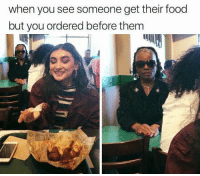 Food, Funny, and Lol: when you see someone get their food  but you ordered before them Daily Afternoon Ridiculous Funny Picdump 79 of The Day (31 Pics) - RidiculousPics #funnymemes #funnypictures #humor #funnytexts #funnyquotes #funnyanimals #funny #lol #wtf #memes #funny