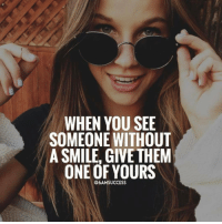 Adele, JLo, and Memes: WHEN YOU SEE  SOMEONE WITHOUT  A SMILE, GIVE THEM  ONE OF YOURS  @6AMSUCCESS Tag your friends 👇🏼 6amsuccess :) ➖➖➖➖➖➖➖➖➖➖➖➖➖➖➖➖➖ @leomessi @kimkardashian @jlo @adele @ddlovato @katyperry @danbilzerian @kevinhart4real @thenotoriousmma @justintimberlake @taylorswift @beyonce @davidbeckham @selenagomez @therock @thegoodquote @instagram @champagnepapi @cristiano