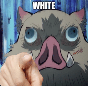 when you see something white: when you see something white