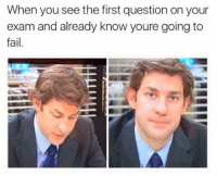 Fail, Tumblr, and youtube.com: When you see the first question on your  exam and already know youre going to  fail. kryztals:  No. 1🤔https://www.youtube.com/user/4Judith1?sub_confirmation=1