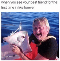 When You See Your Best Friend: when you see your best friend for the  first time in like forever