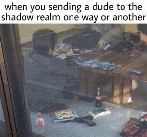 25+ Best Crossed Into the Shadow Realm Memes |