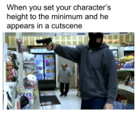 Memes, Him, and Via: When you set your character's  height to the minimum and he  appears in a cutscene Go get him Danny! via /r/memes https://ift.tt/2RYaIXC