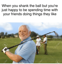 """<p>One bad shot shouldn&rsquo;t ruin your day via /r/wholesomememes <a href=""""http://ift.tt/2pr6bRY"""">http://ift.tt/2pr6bRY</a></p>: When you shank the ball but you're  just happy to be spending time with  your friends doing things they like <p>One bad shot shouldn&rsquo;t ruin your day via /r/wholesomememes <a href=""""http://ift.tt/2pr6bRY"""">http://ift.tt/2pr6bRY</a></p>"""