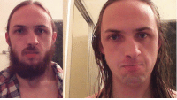 When you shave your facial hair to more attractive, only to find out you look worse.: When you shave your facial hair to more attractive, only to find out you look worse.