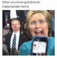 If you like inappropriate memes you gotta check out @satan. Grandma will thank you later.: When you show grandma an  inappropriate meme  neemojis  607  140k  165  Edit  Champagne Room  Mostly originaloannart If you like inappropriate memes you gotta check out @satan. Grandma will thank you later.