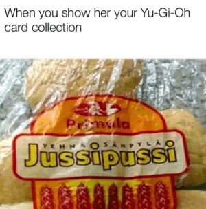 Anime, Yu-Gi-Oh, and Spirit: When you show her your Yu-Gi-Oh  card collection SpiRit ExoDiA