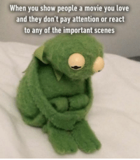 Memes, 🤖, and Devastator: When you show people a movie you love  and they don't pay attention or react  to any of the important scenes Bloody devastating.