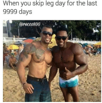 When you skip leg day for the last  9999 days  rocc0800 😂😂😂😂(@rocco800)