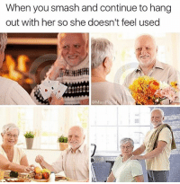 feeling under the weather, meme machine broke. Thank God for my older Harold memes: When you smash and continue to hang  out with her so she doesn't feel used  @MasiPop feeling under the weather, meme machine broke. Thank God for my older Harold memes