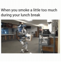 @cosmoskyle weed is way too loud for a lunch break 😂💨: When you smoke a little too much  during your lunch break  ASIAN @cosmoskyle weed is way too loud for a lunch break 😂💨
