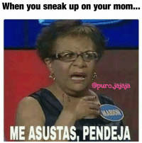 Me asustas pendeja!! 😡lol gotta love mom! Follow @puro_jajaja mexicansbelike mexicanproblems MexicanMom MexicanMomsBelike NoPosWow EstaCabron Latinas LatinasBeLike: When you sneak up on your mom.  Opuro.jajaja  ME ASUSTAS, PENDEJA Me asustas pendeja!! 😡lol gotta love mom! Follow @puro_jajaja mexicansbelike mexicanproblems MexicanMom MexicanMomsBelike NoPosWow EstaCabron Latinas LatinasBeLike