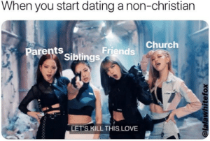 Reddit christian dating non believer