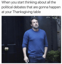 Dank, Thanksgiving, and 🤖: When you start thinking about all the  political debates that are gonna happen  at your Thanksgiving table