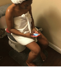 When you supposed to be in the shower but the person you texting too interesting & twitter keep getting better: When you supposed to be in the shower but the person you texting too interesting & twitter keep getting better