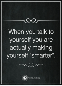 """Memes, 🤖, and Talking to Yourself: When you talk to  yourself you are  actually making  yourself """"smarter"""""""
