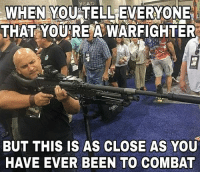 """Children, Facts, and Google: WHEN YOU TELLEVERYONE  THAT YOURE A WARFIGHTER  BUT THIS IS AS CLOSE AS YOU  HAVE EVER BEEN TO COMBAT So @pogactual came across this interesting photo of one Pedro """"Rick"""" Ferran, aka Tank, owner of the retarded page Uncle Sam's Misguided Children. Anyone who has ever fired an M240, or any fully automatic longarm, can look at this picture and point out half a dozen things IMMEDIATELY wrong with his positioning. For fuck's sake, who puts their offhand UNDER the feed tray? A quick google search turns up lots of allegations, mostly for defrauding employees and tax evasion. He's also made claims of being a combat vet (unsubstantiated) and running a non-profit (no tax records available), but those records of conversations have been lost to the internet. What we can substantiate is that he regularly plagiarizes @pogbootfucks, JTTOTS, along with dozens of other content creators, and that nearly every post they make is fabricated information based solely on one source of conjecture. The facts are out there, just have to go find them for yourself."""