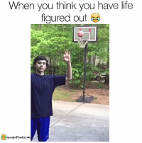 Memes, 🤖, and The Face: When you think you have life  figured out  ownage Pranks.com RIGHT IN THE FACE.  Like our page for MORE funny videos! => OwnagePranks (Original video credit: Joel Dillis @Jdill55 on Twitter)