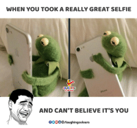 gooo: WHEN YOU TOOK A REALLY GREAT SELFIE  LAUGHING  AND CAN'T BELIEVE IT'S YOU  GOOO®/laughingcolours