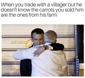 Friday, Memes, and Mega: When you trade with a villager but he  doesn't know the carrots you sold him  are the ones from his farm 40 Mega Memes for Your Friday #memes