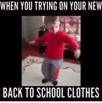 TBT BestOf2015 MakingPeopleLaugh 😂: WHEN YOU TRYING ON YOUR NEW  BACK TO SCHOOL CLOTHES TBT BestOf2015 MakingPeopleLaugh 😂