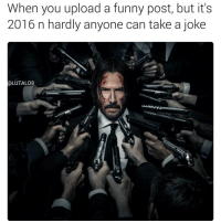 Sensitive cunts, sensitive cunts everywhere 😫: When you upload a funny post, but it's  2016 n hardly anyone can take a joke  (a LUTALO8 Sensitive cunts, sensitive cunts everywhere 😫