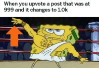 """Memes, Via, and You: When you upvote a post that was at  999 and it changes to 1.0k  6 <p>Even if I hate the post I still upvote via /r/memes <a href=""""https://ift.tt/2KMtRYy"""">https://ift.tt/2KMtRYy</a></p>"""