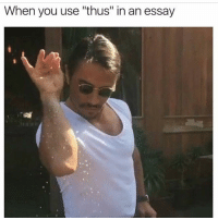 """Memes, 🤖, and Thus: When you use """"thus"""" in an essay"""