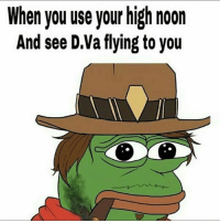 Tag a McCree main overwatch: When you use your high noon  And see D.Va flying to you Tag a McCree main overwatch