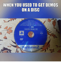 Demoness: WHEN YOU USED TO GET DEMOS  ON A DISC  ops2m demo 42  SONY  PAL  Playstation 2