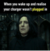 9gag, Memes, and Phone: When you wake up and realise  your charger wasn't plugged in The horror when you are going to work in 20 mins. Follow @9gag for more relatable memes. 9gag phone battery sad