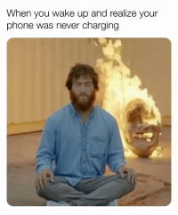 "Memes, Mood, and Video: When you wake up and realize your  phon  he was never charging this song + this video = my MOOD🔥 🎧 @mikeposner - ""Song About You"" 🎶"