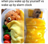 Clock, Alarm, and Alarm Clock: when you wake up by yourself vs  wake up by alarm clock