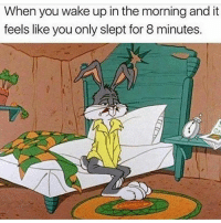 Memes, Monday, and 🤖: When you wake up in the morning and it  feels like you only slept for 8 minutes. Monday again