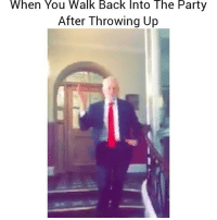Lmao 😂 👉Tag a friend who does this 👉Follow (@soflo) for more laughs: When You Walk Back Into The Party  After Throwing Up Lmao 😂 👉Tag a friend who does this 👉Follow (@soflo) for more laughs