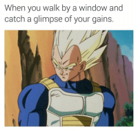 Memes, 🤖, and Window: When you walk by a window and  catch a glimpse of your gains. If this isn't me (@supervillain909)
