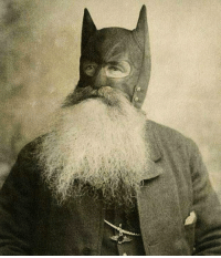 When you want to be Batman but beard is life 🦇🦇🦇: When you want to be Batman but beard is life 🦇🦇🦇