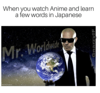 Anime, Memes, and Watch: When you watch Anime and learn  a few words in Japanese  Made By Padia K Memes the dream