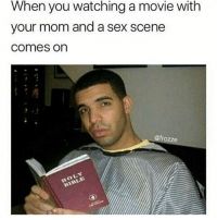 "Lol, Meme, and Memes: When you watching a movie with  your mom and a sex scene  comes on  @frozze  LOL 🙌 - 1. Like the post 🙌 - 2. Follow @DNF.Gaming 🙌 - 3. Comment ""Done"" letter by letter! 97% failed 😭 Tags ignore cod callofduty codmemes callofdutymemes lol gamingmemes funnymeme funnymemes blackops nochill funnyaf xbox xbox360 xboxlive playstation psn xboxone xbox360 bo3 bo2 mwr mw3 hashtag modernwarfare hilarious relatable infiniteware meme memes gaming follow4follow"