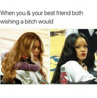 Best Friend, Bitch, and Bruh: When you & your best friend both  wishing a bitch would 👍Go follow ➡@quotekillahs For the most viral memes on social media ✔check out @quotekillahs Dm us on how to reach over 1 Million💪ACTIVE followers for your promotion and marketing needs. Our advertising network consist of ♻@quotekillahs 💯@terryderon 👊@realmanspov 👌@royaltyispower 🤣@vicious.princess_ 👑@ogboombostic_ @just2vicious😍🙏@boutmyblessings qk4life quotekillahs pettylife toofunny funnymemes pettyshit pettyaf petty dead funnyshit funnyaf imdead bruh realtalk lol facts savage nolie hilarious whodidthis nochill ctfu foh welp funnyasfuck whatthefuck pettypost imweak lmao kmsl