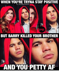 """Cisco was throwing *SO* much shade on last night's crossover episode of TheFlash. 😂😂 I mean, he has every reason to be but I'm afraid this is going to be remembered as Cisco's """"Season 3 Felicity"""" phase. What do you guys think of Season 3 Cisco and his bro-angst? -- Consider this a submission to @world_of_flash_'s caption contest. 🙌🏾: WHEN YOUIRE TRYNA STAY POSITIVE  IGI BLERD.VISION  BUT BARRY KILLED YOUR BROTHER  AND YOU PETTY AF Cisco was throwing *SO* much shade on last night's crossover episode of TheFlash. 😂😂 I mean, he has every reason to be but I'm afraid this is going to be remembered as Cisco's """"Season 3 Felicity"""" phase. What do you guys think of Season 3 Cisco and his bro-angst? -- Consider this a submission to @world_of_flash_'s caption contest. 🙌🏾"""