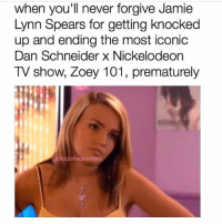 Ok but quick question is everyone that attend Pepperdine University obsessed with zoey 101 ??? Like how could you not be ???? If you have info on this please let me know thank you: When you'll never forgive Jamie  Lynn Spears for getting knocked  up and ending the most iconic  Dan Schneider x Nickelodeon  TV show, Zoey 101, prematurely  black sheepmemes Ok but quick question is everyone that attend Pepperdine University obsessed with zoey 101 ??? Like how could you not be ???? If you have info on this please let me know thank you