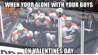 Memes, 🤖, and Sweatshirt: WHEN YOUR ALONE WITH YOURBOYS  50N 3  128  YSTEMS  @nhl savage  INR ONWALENTINESDAY Tag your squad👍🏽 Don't forget to get a shirt-sweatshirt-coffee mug! ONY 5 DAYS LEFT🔥🔥 Link in bio