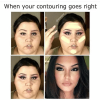 When your contouring goes right I'd like to thank @anastasiabeverlyhills and @maccosmetics for making this possible 🙌🏼🙌🏼 rp @aranjevi 💋 goodgirlwithbadthoughts 💅🏻
