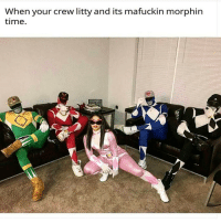 Squuuuuad! 😂💯: When your crew litty and its mafuckin morphin  time. Squuuuuad! 😂💯