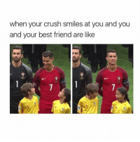 tag your crush if you real: when your crush smiles at you and you  and your best friend are like tag your crush if you real